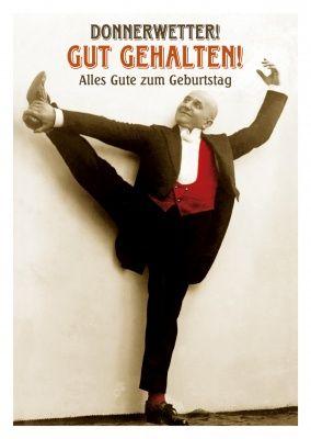 vintage alter mann postkarte alles gute zum geburtstag  Geburtstag  Happy birthday Happy