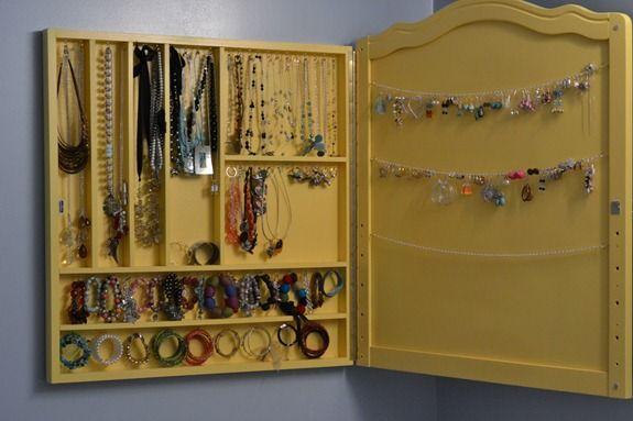 Jewelry OrganizerRoadkill Rescue Diy jewelry organizer Jewelry
