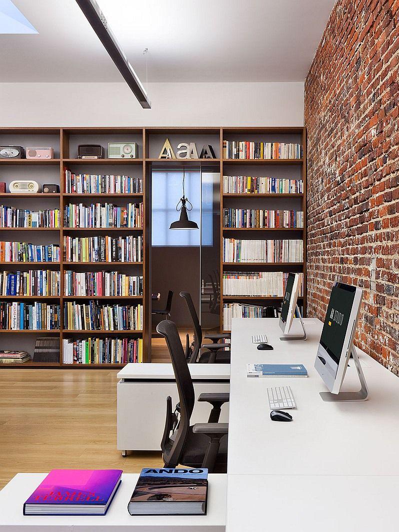 5 stunning garage conversions interiors office designs for Garage office designs