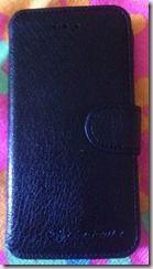 Kochlöffel & Lippenstift: Ledertasche für das iPhone 6/ 6s