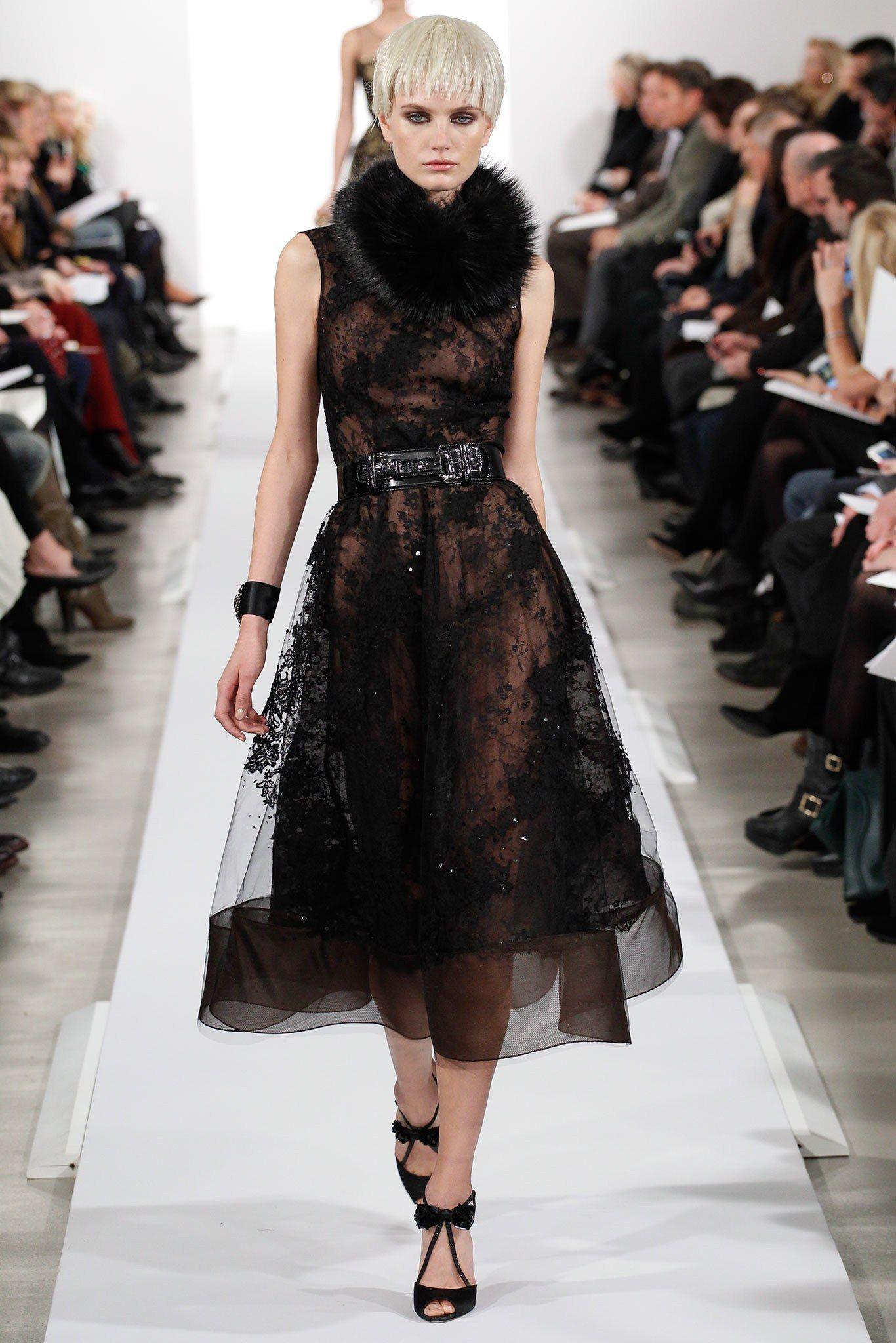 Oscar de la Renta Fall 2014 Ready-to-Wear Fashion Show - Anmari Botha