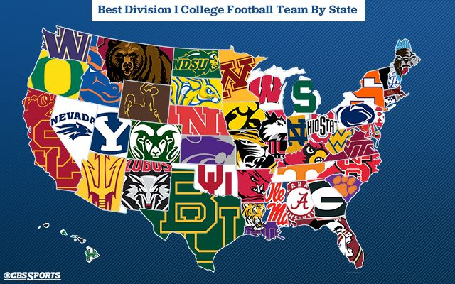 Picking The Best College Football Team In Each State Entering 2015