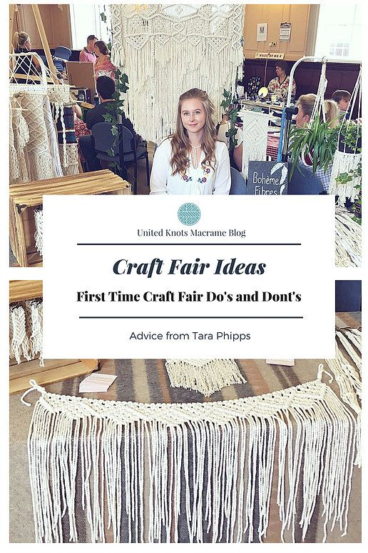Macrame UK United Knots Craft fairs, Macrame, Craft