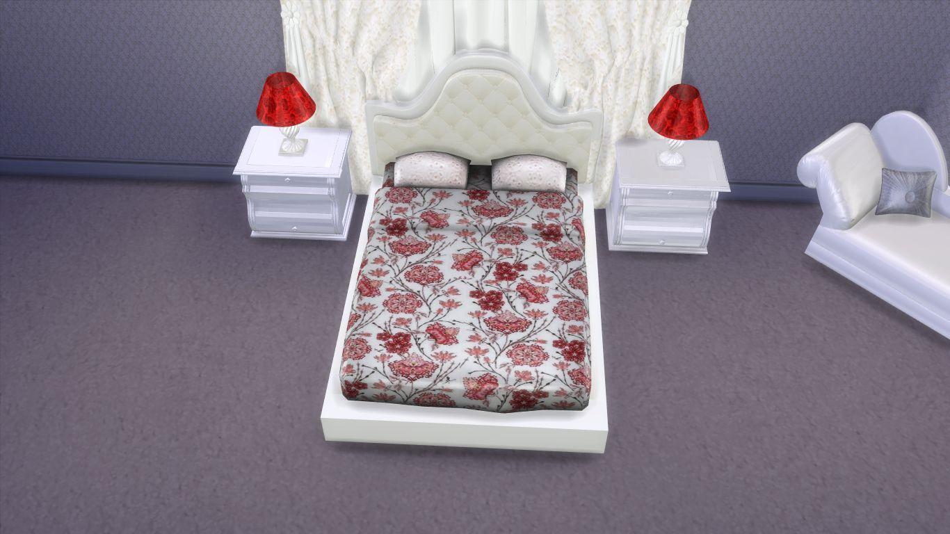 Sims 4 modern luxury bedroom furniture set