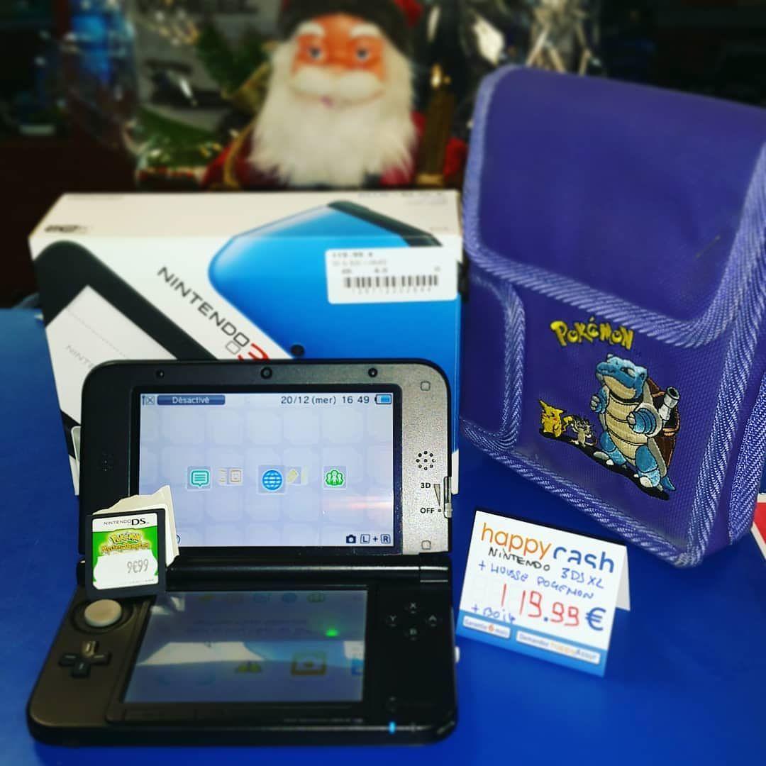 Pack Nintendo 3ds Xl Avec Boite Chargeur Housse Pokemon Et Jeux Pokemon Mystery Dongeon Offert Happycashlannion Bonsplans B Nintendo Gaming Products Gameboy