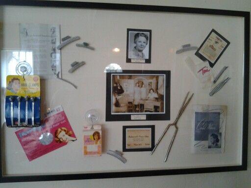 Vintage salon items from The Hair Salon