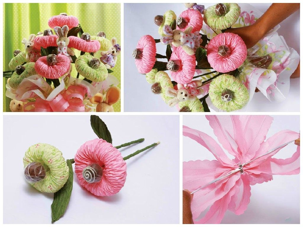 How to make a paper tissue flower bouquet home made pinterest how to make a paper tissue flower bouquet izmirmasajfo