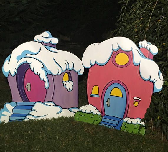 Start Building Your Whoville Village Today Made From Mdo