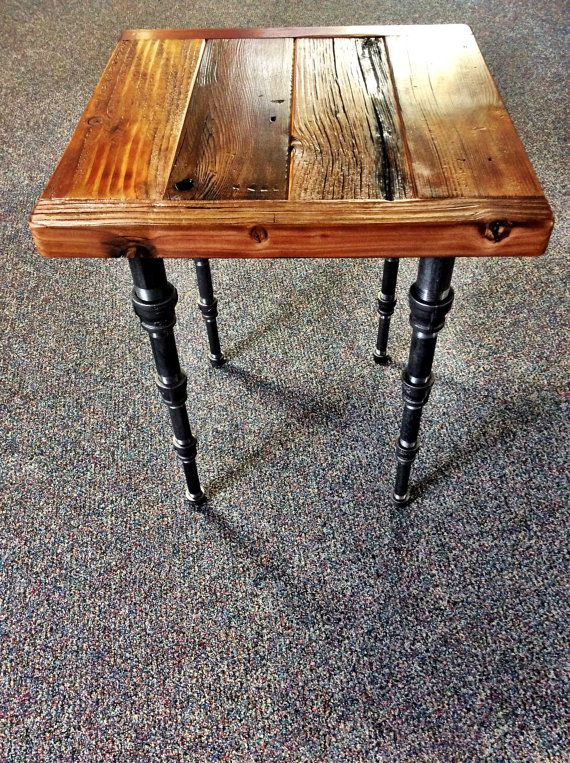 If Youve Been Searching Etsy For A One Of Kind Super Cool Industrial Or Steampunk Ish End Table Your Search Is Over Heres The Latest Product My