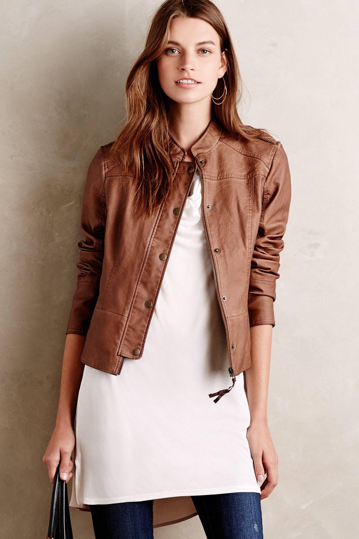 Vegan Leather Bomber Vegan clothing, Clothes, Leather jacket