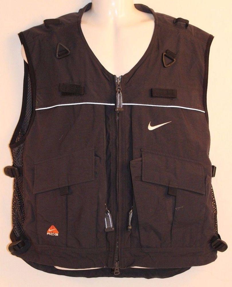 buy popular 8a5ce bcf4c Vintage NIKE ACG Vest Size Mens Large RARE Nike Vest