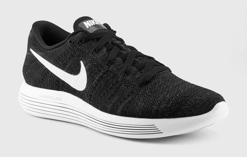 d8d4e697c508 Youth Big Boys Nike LunarEpic Flyknit Low Black White