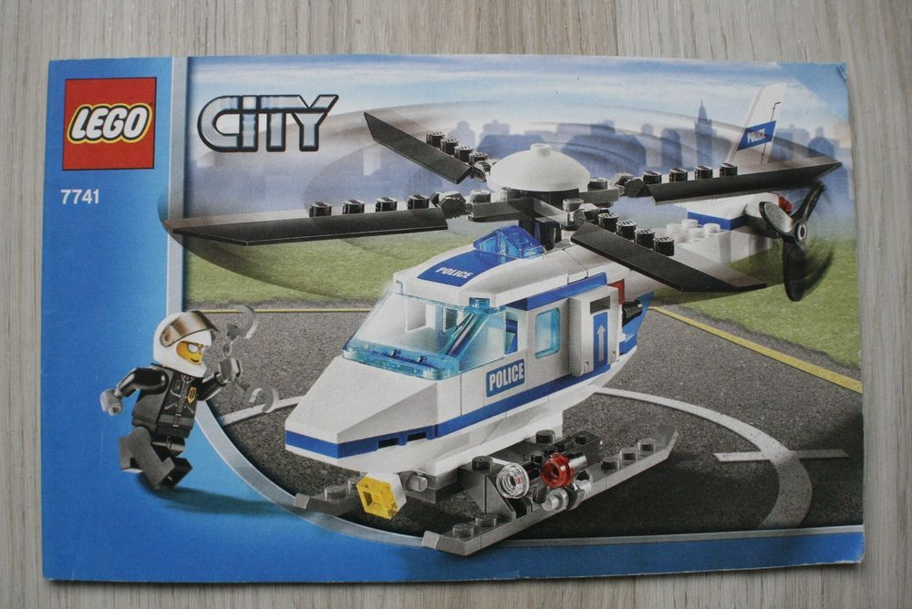 Lego 7741 Instruction Book For City Police Helicopter Lego Lego City Police Helicopter Lego City Police Lego City