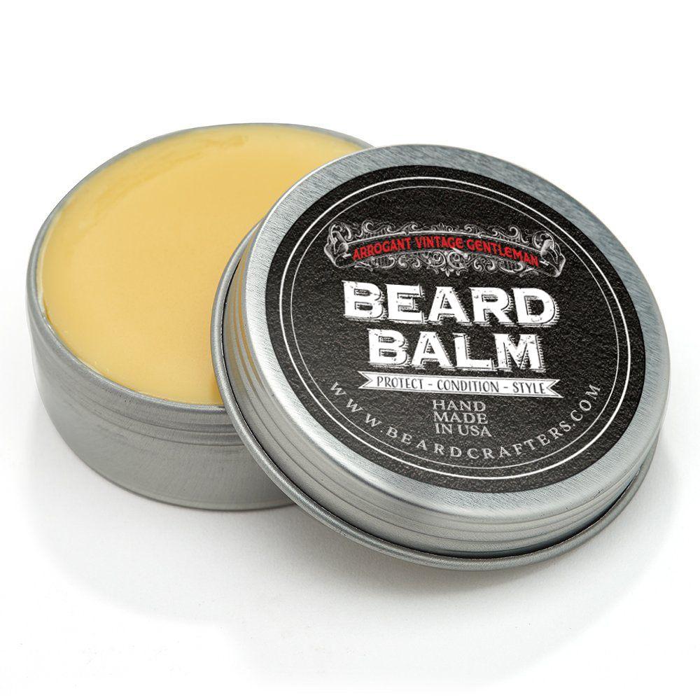 Beard Balm Label Design Packaging Design