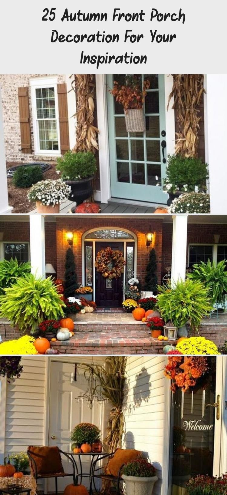 25 Autumn Front Porch Decoration For Your Inspiration #fallfrontporchdecor 25 Autumn Front Porch Decoration for Your Inspiration #YellowFrontDoors #GlassFrontDoors #FarmhouseFrontDoors #ContemporaryFrontDoors #DoubleFrontDoors #fallfrontporchdecor