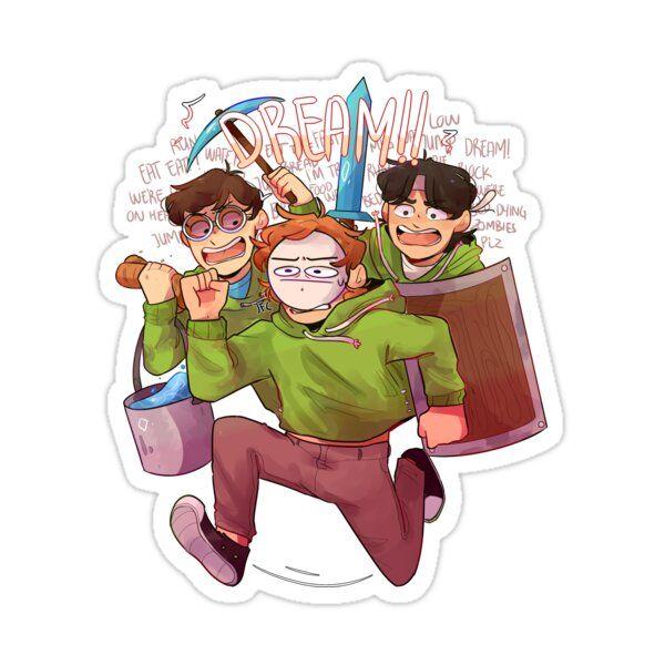 Chaotic Dream Team Sticker