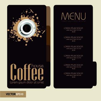 coffee price list retro menu template coffee in 2018 pinterest