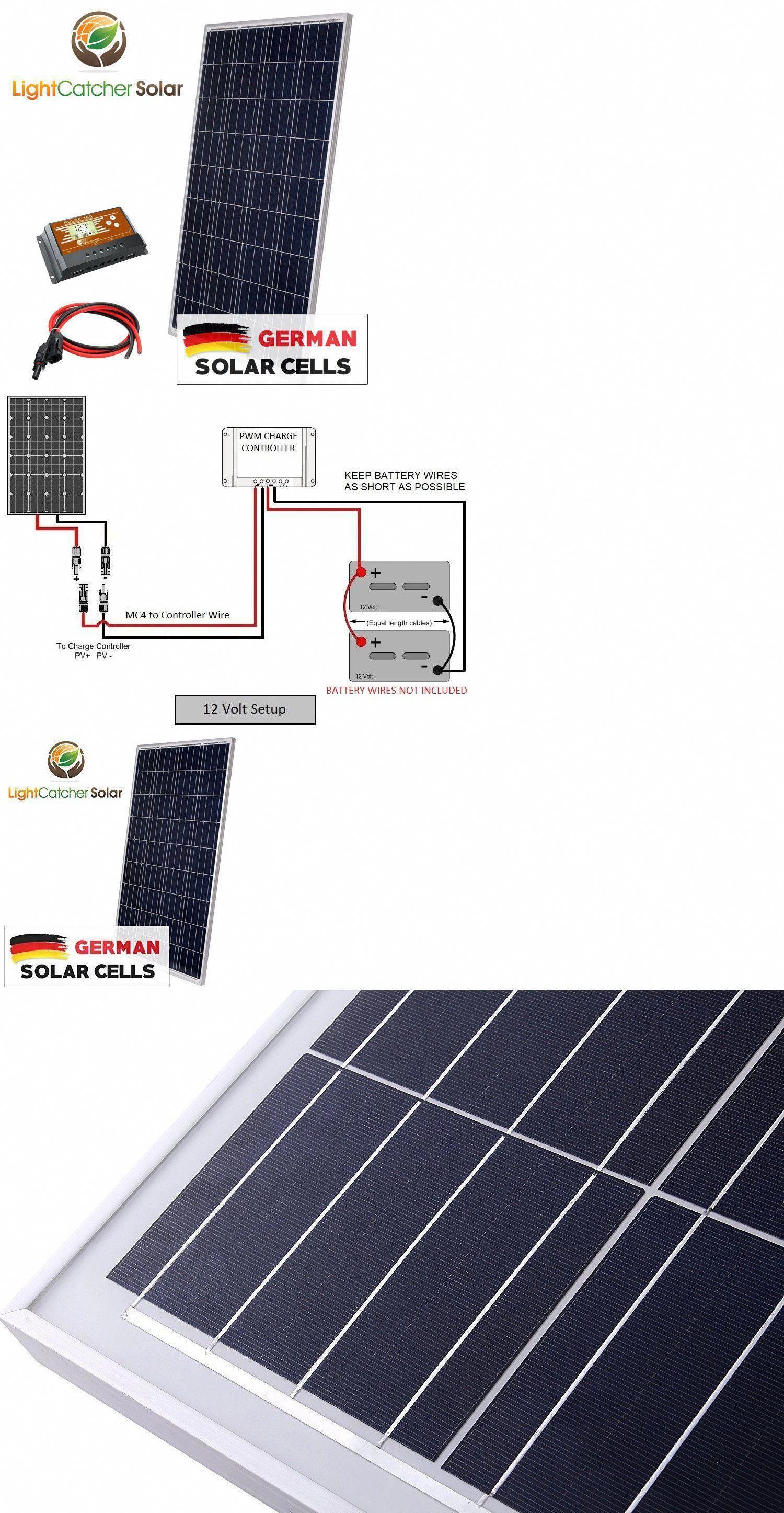Alternative and Solar Energy 41979 100 Watt Solar Panel