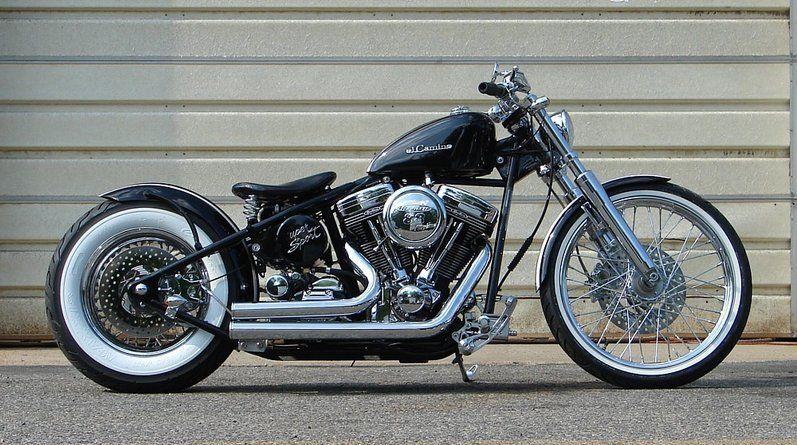 Hardtail Harley Davidson Bobber | Bike and more | Pinterest | Harley
