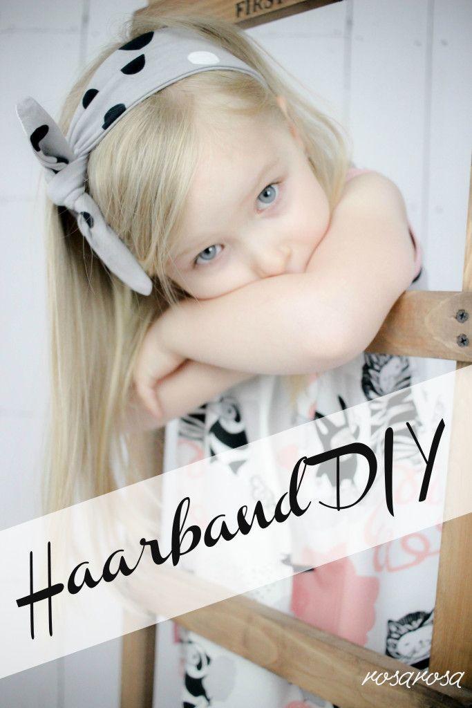 Haarband DIY | nähen für Kinder | Pinterest | Haar band, Nähen und ...