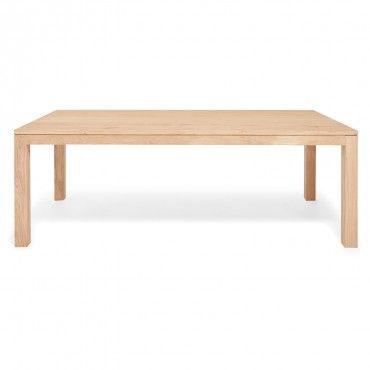 Ethnicraft Oak Apron Dining Table Modern Furniture Decor Dining Table Oak Dining Table