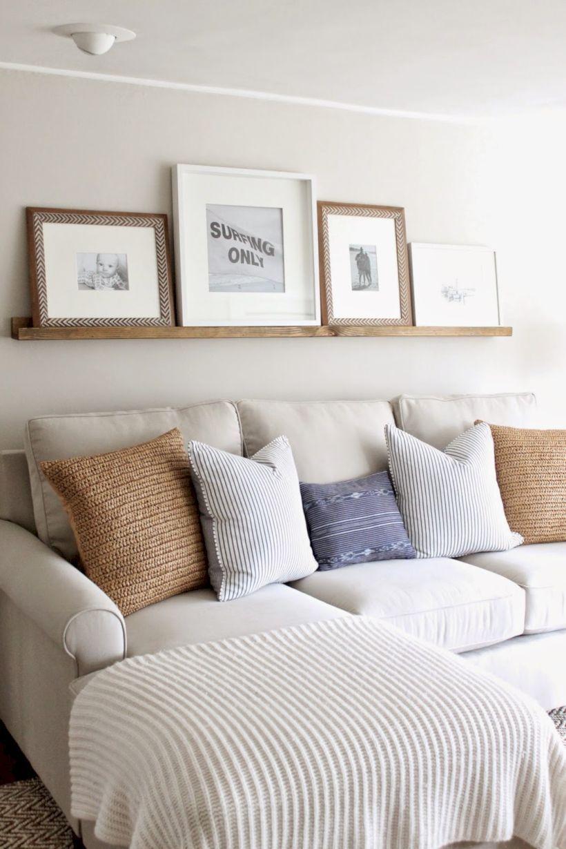 53 Creative Diy Beachy Living Room Decor Ideas Above Couch Home