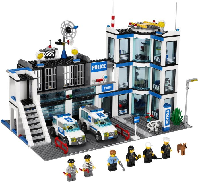 the police station at lego city
