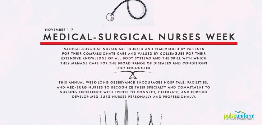 Happy medical surgical nurses week to all the med-surg #nurses out
