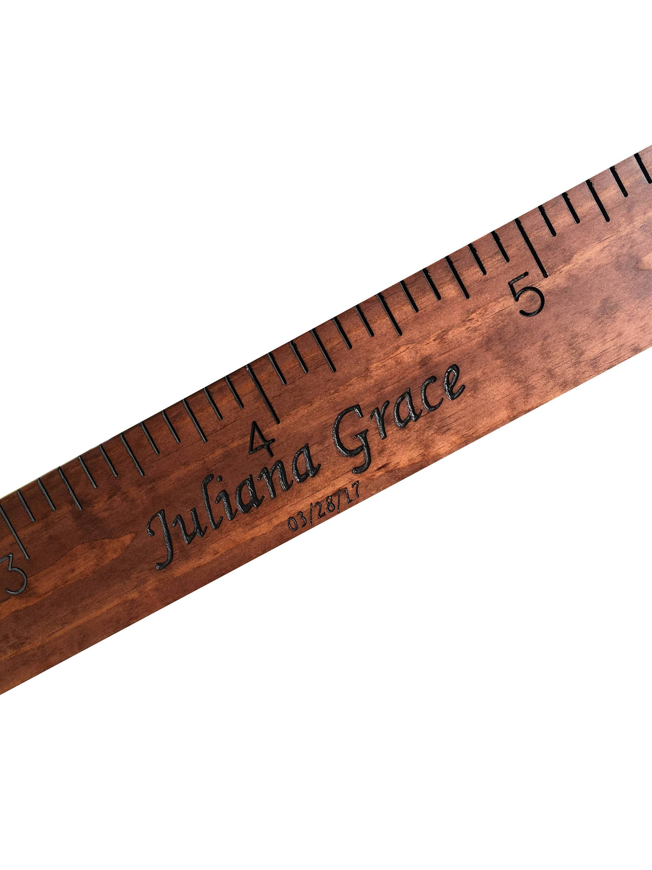 Middle edition custom hand routed wooden ruler growth chart middle edition custom hand routed wooden ruler growth chart height measurement chart geenschuldenfo Choice Image