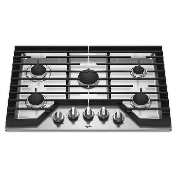 Whirlpool 30 Inch Gas Cooktop
