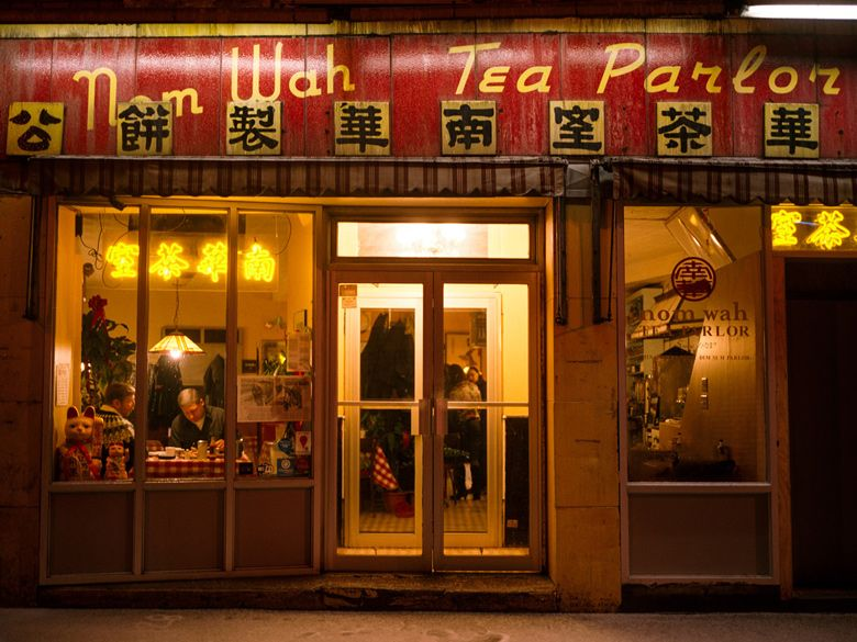 Nom Wah Tea Parlor Chinatown Nyc Visiting Nyc Chinese Restaurant