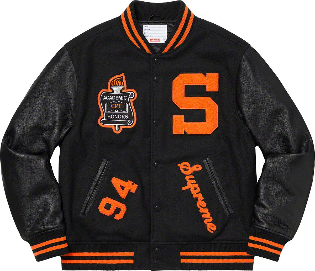 Supreme Team Varsity Jacket Varsity jacket, Jackets, Varsity