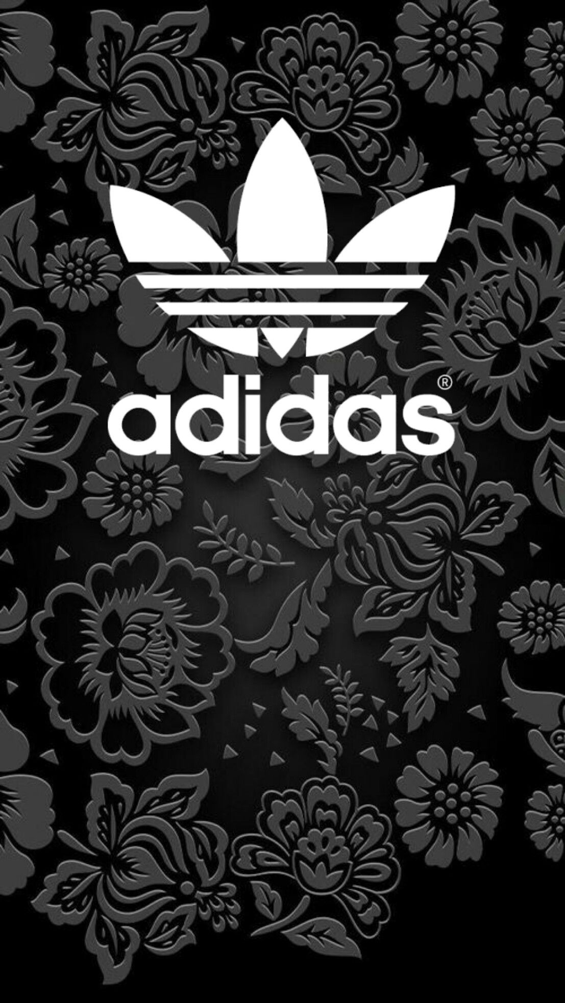 adidas black wallpaper android iphone (With images