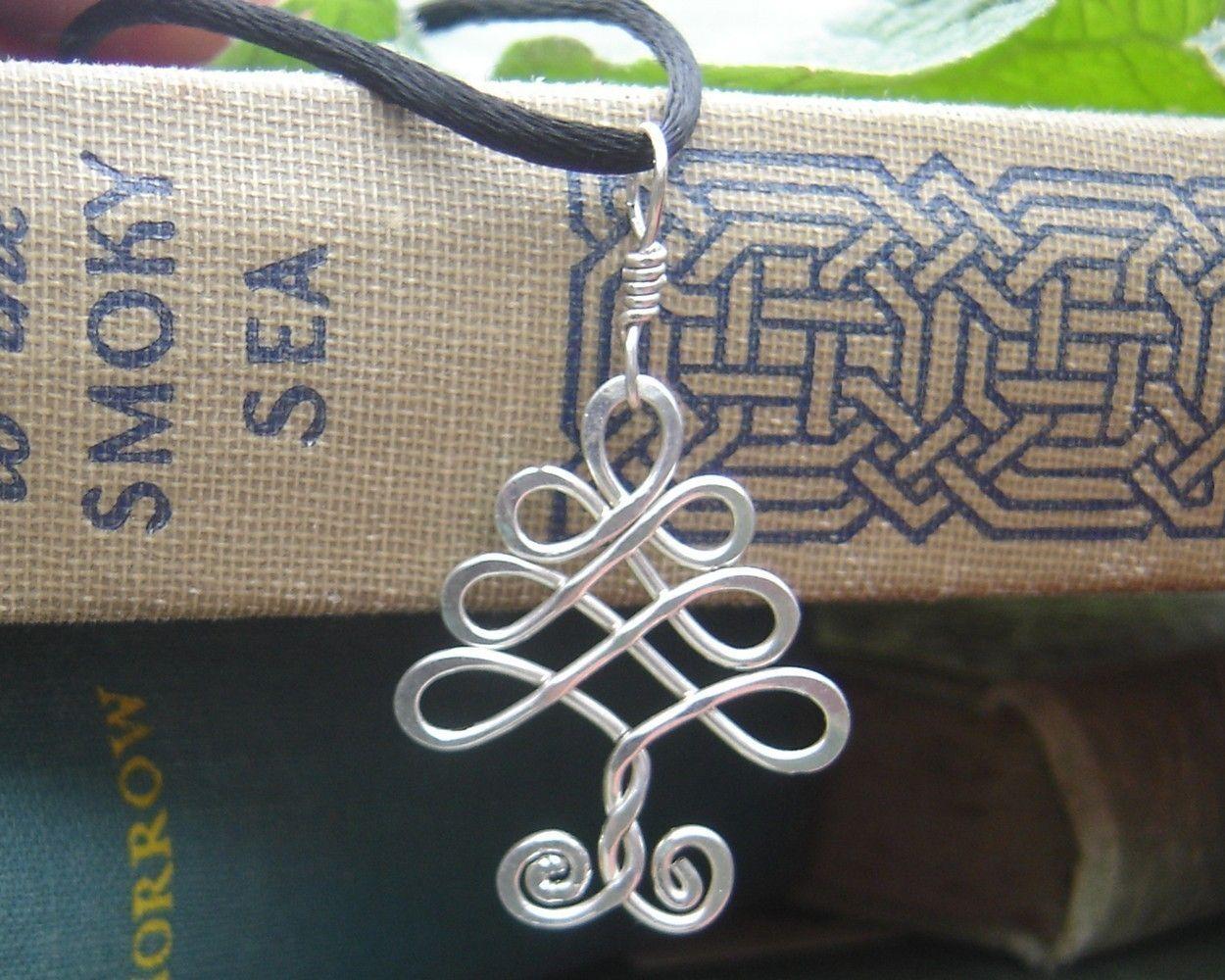 Celtic Tree Sterling Silver Pendant -Tree of Life - Christmas Tree ...