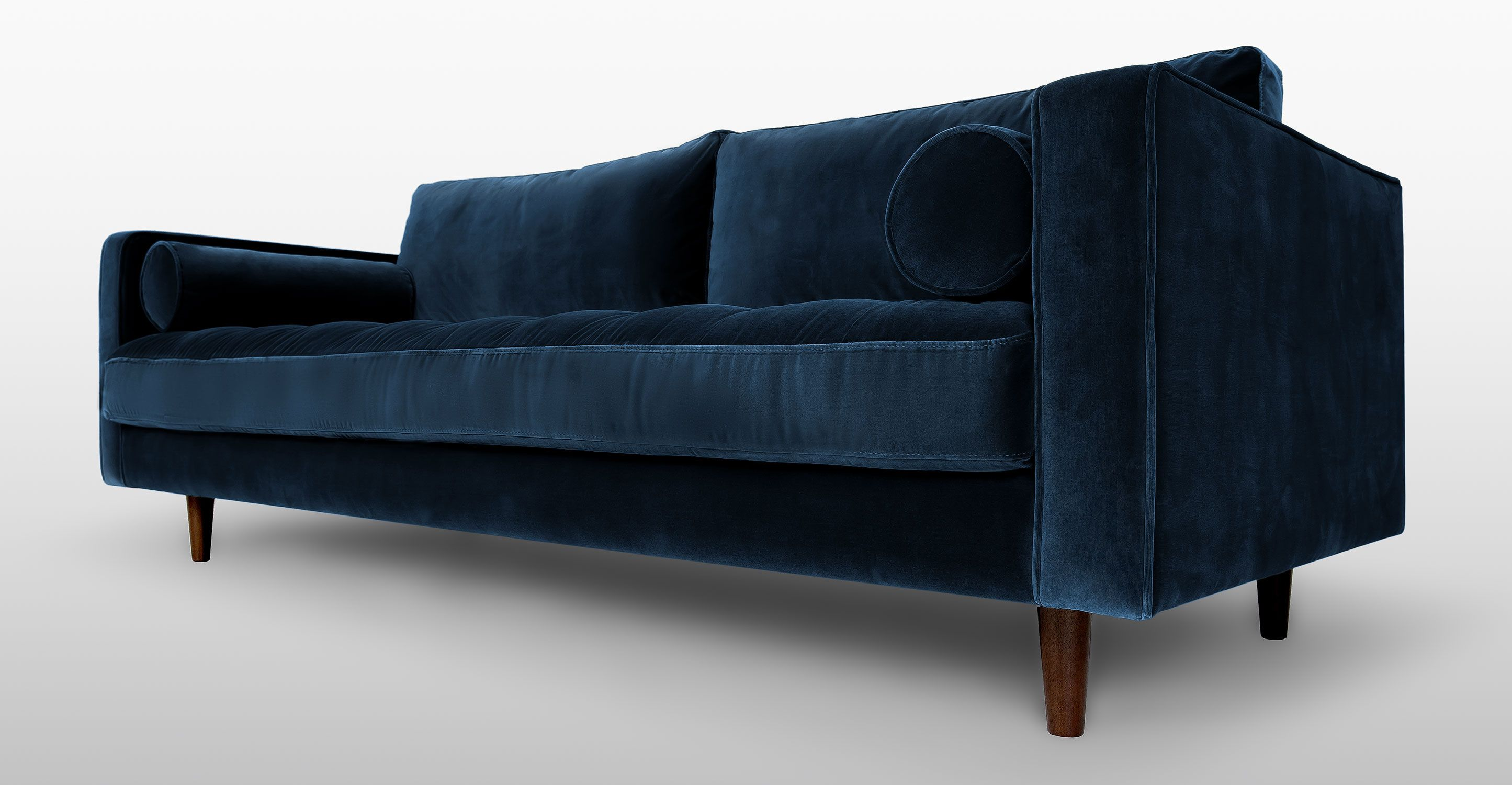 Sven Cascadia Blue Sofa | Green sofa, Comfortable sofa, Sofa ...