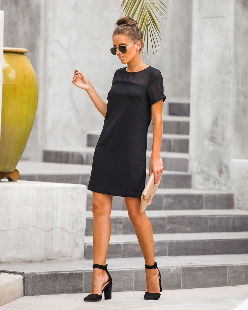 Click To Shop Our Website Or Follow Us At Vicidolls For All The Latest Updates Fashion Inspo In My Feelings Mesh Deta Shift Dress Black Dresses Shift Dress [ 1024 x 819 Pixel ]