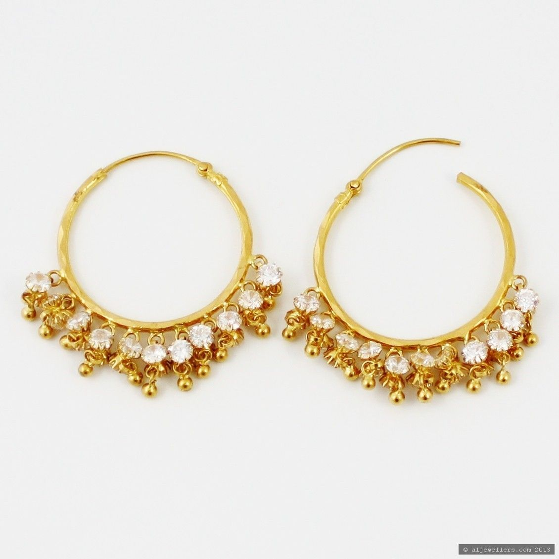 Hoop Earrings Gold India  Google Search