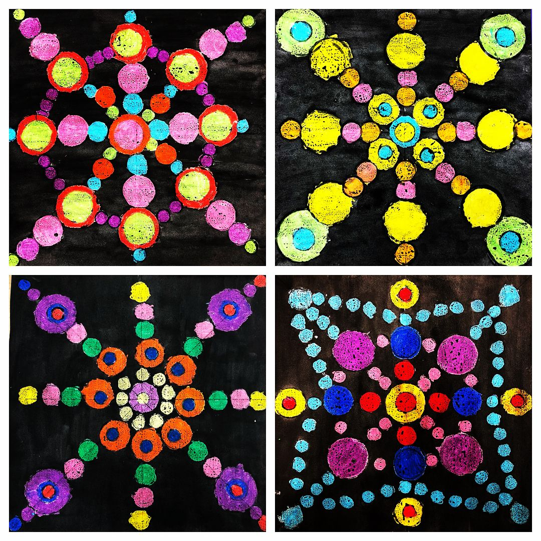 Alyssa Tice On Instagram Finished 4th Grade Dot Day Projects Inspired By Kyllanmaney