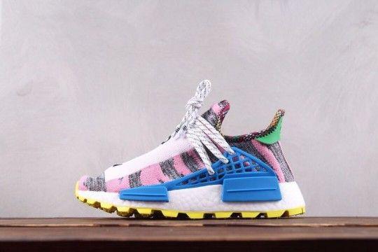 "96b516a3b761 Pharrell Williams x Adidas Originals Hu NMD ""Afro Pack"" BB9529 ..."