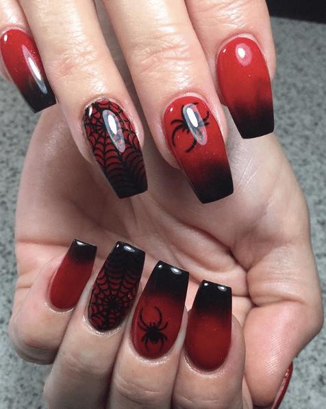 21 Halloween Nails Halloween Acrylic Nails Halloween Nails Halloween Nail Designs