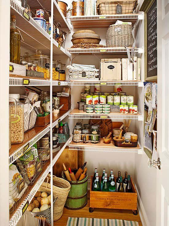 Zoning is the Best Way to Organize Your Pantry | Kitchen ...
