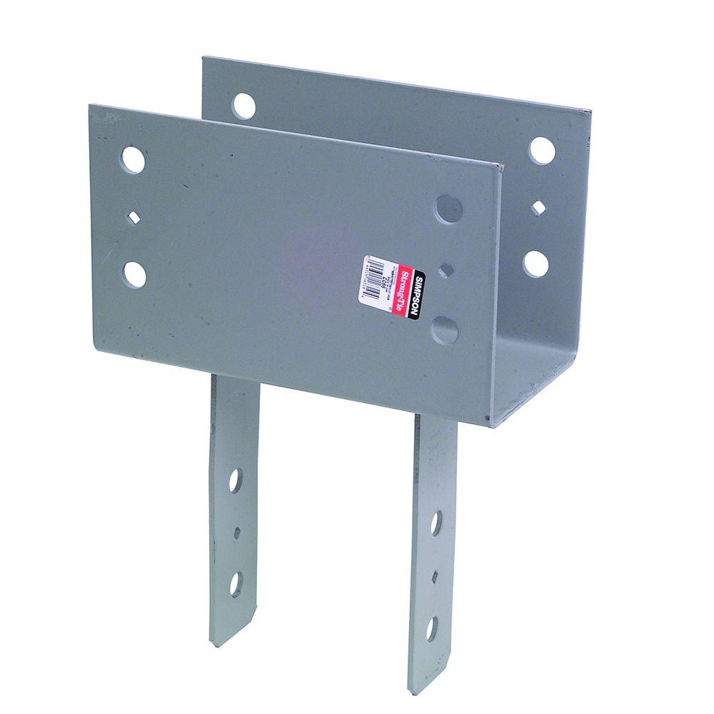 Simpson Strong Tie Cc Column Cap For 6x Beam 6x Post Cc66 The Home Depot Post And Beam Steel Frame House Beams