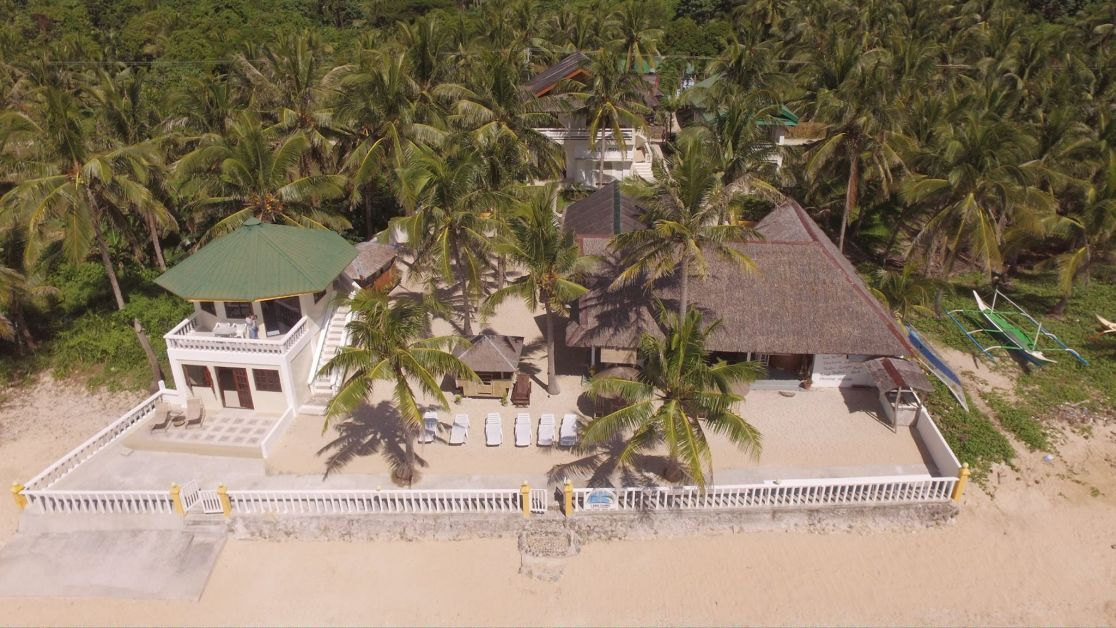 Lanas Beach Resort from Ariel views from a quadcopter