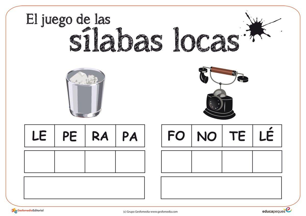 Silabas Worksheet