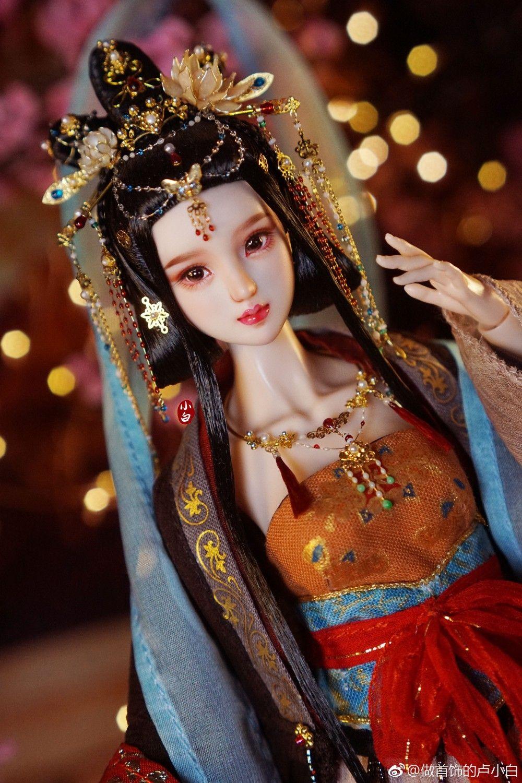 cute japanese asian doll