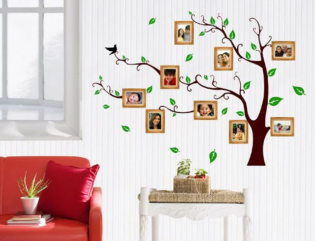 Redecorate Your Home Instantly with Wall Design Stickers | Home ...