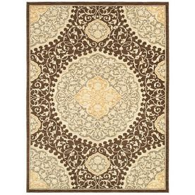 Thorndale 9 Ft 6 In X 12 Ft 10 In Rectangular Tan Floral Area Rug Area Rugs Shaw Rugs Rugs