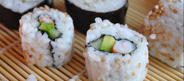 California Roll Veggie Sushi Sushi California Roll
