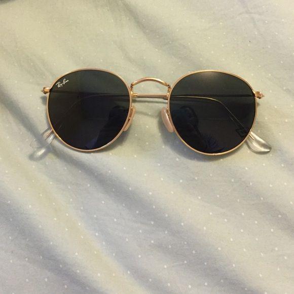 ray ban round sunglasses  Ray Ban round metal