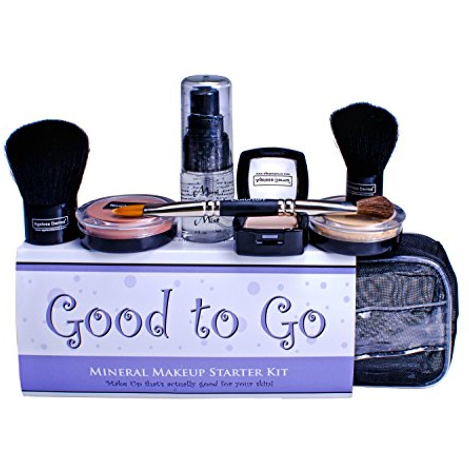 Ageless Derma Good to Go Mineral Makeup Kit with Vitamins